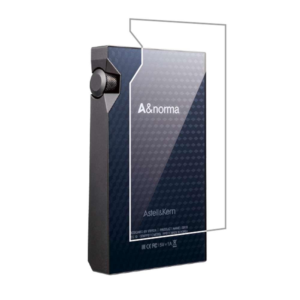 Astell&Kern A&norma SR15 フィルム 強化ガラス 高光沢 液晶面+背面セット アステル アンド ケルン エーアンドノーマ 液晶保護フィルム CP-SR15GF