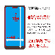 ラスタバナナ Android One S8 フィルム 平面保護 強化ガラス 0.33mm ブルーライトカット 光沢タイプ ケースに干渉しない 抗菌 アンドロイド ワン S8 液晶保護フィルム GHE2816AOS8