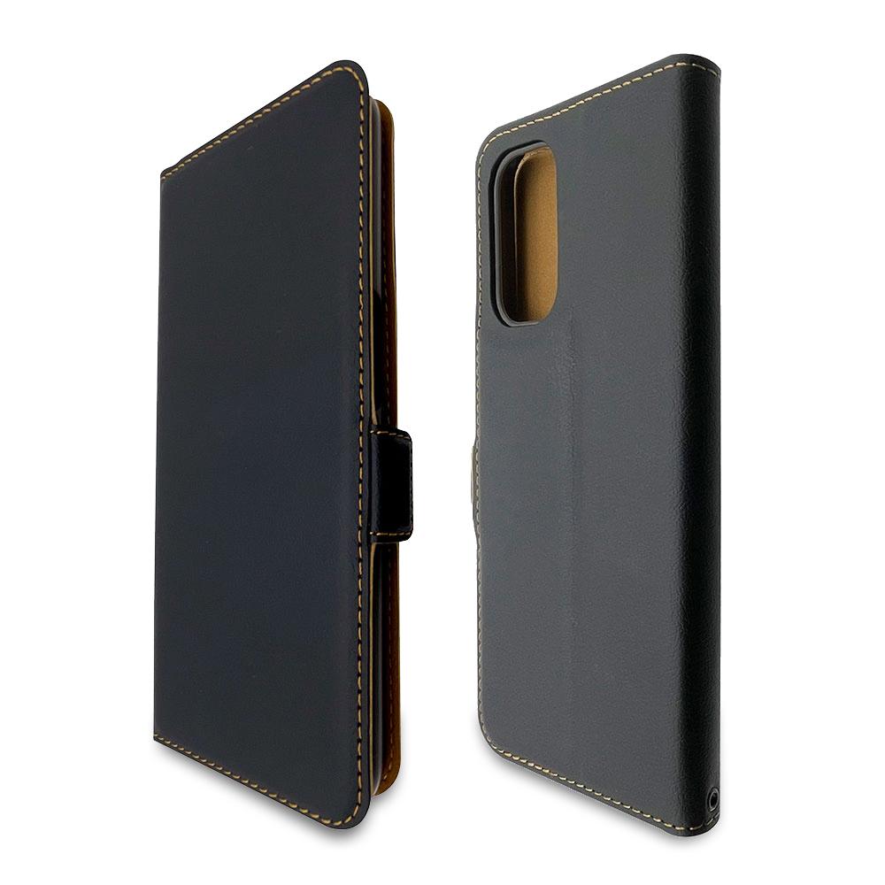 ラスタバナナ OPPO A54 5G OPG02 ケース カバー 手帳型 +COLOR 薄型 サイドマグネット BK×BK オッポ スマホケース 6213A54BO