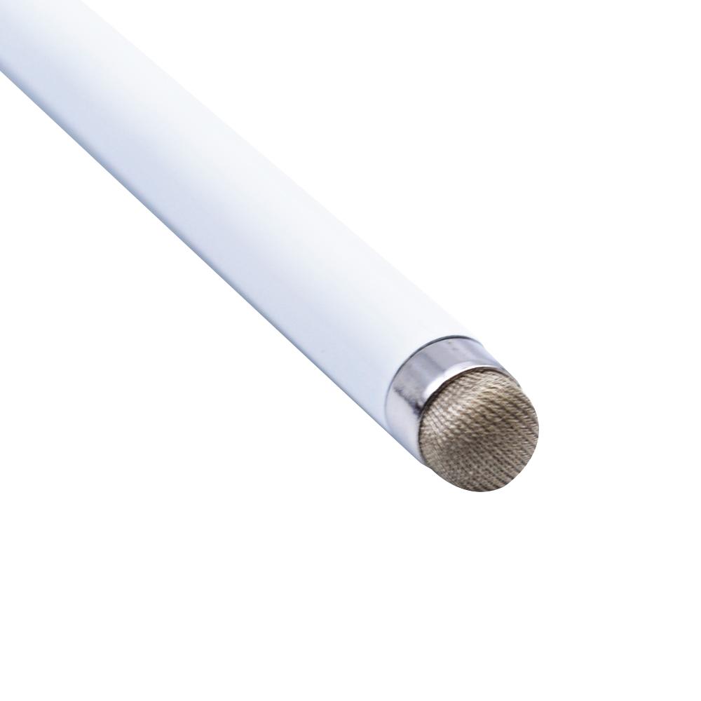 ラスタバナナ スマホ タブレット タッチパネル 静電式 タッチペン 導電繊維 ホワイト RTP08WH