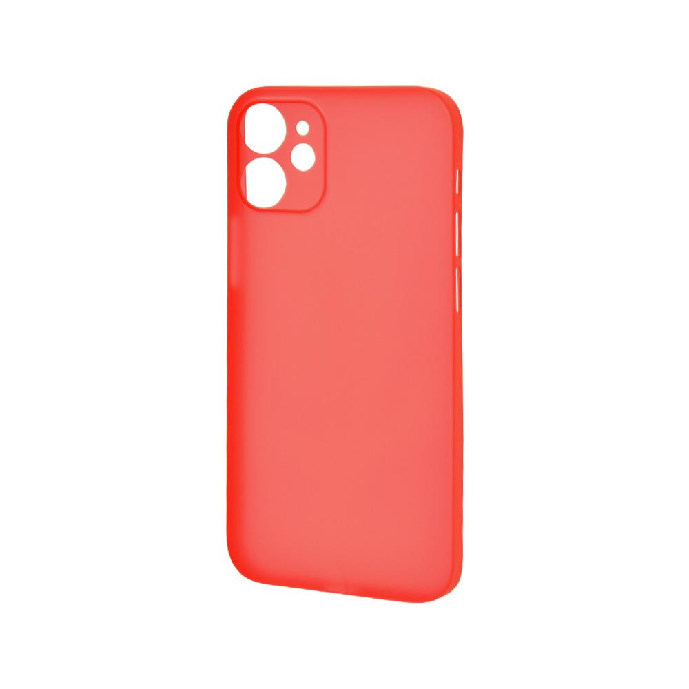 ラスタバナナ iPhone12 mini ケース カバー ハード ウルトラライト スリムフィット 超軽量 超薄型 極限保護 レッド アイフォン スマホケース 6011IP054PP
