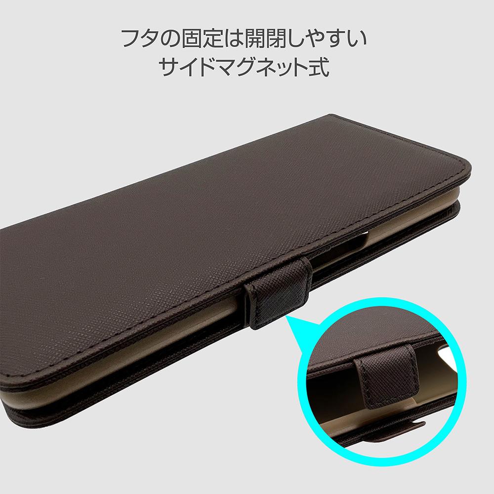 ラスタバナナ OPPO A54 5G OPG02 ケース カバー 手帳型 ハンドストラップ付き ダークブラウン オッポ スマホケース 6216A54BO