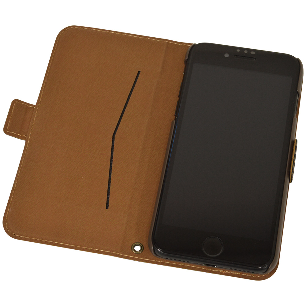 ラスタバナナ iPhone SE 第2世代 iPhone8 iPhone7 iPhone6s 共用 ケース カバー 手帳型 薄型 サイドマグネット ブラック アイフォン SE2 2020 スマホケース 5452IP047BO