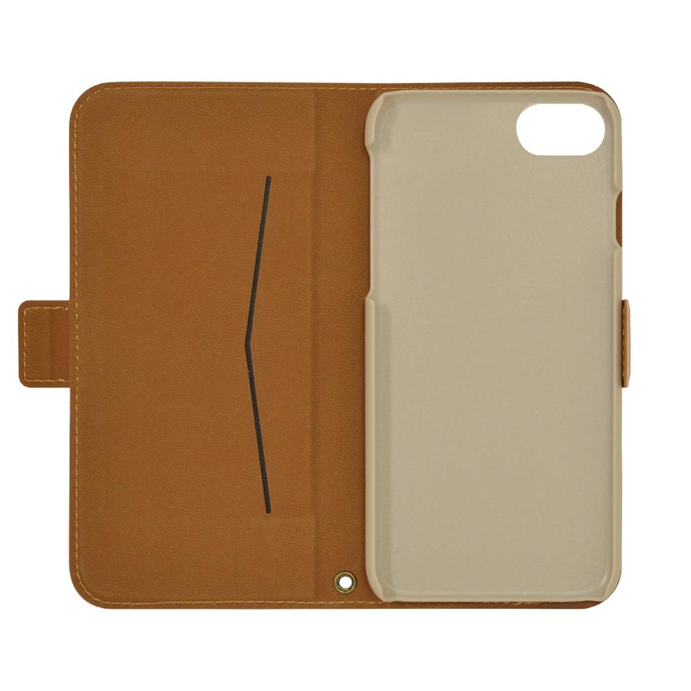 ラスタバナナ iPhone SE 第2世代 iPhone8 iPhone7 iPhone6s 共用 ケース カバー 手帳型 薄型 サイドマグネット ライトピンク アイフォン SE2 2020 スマホケース 5497IP047BO