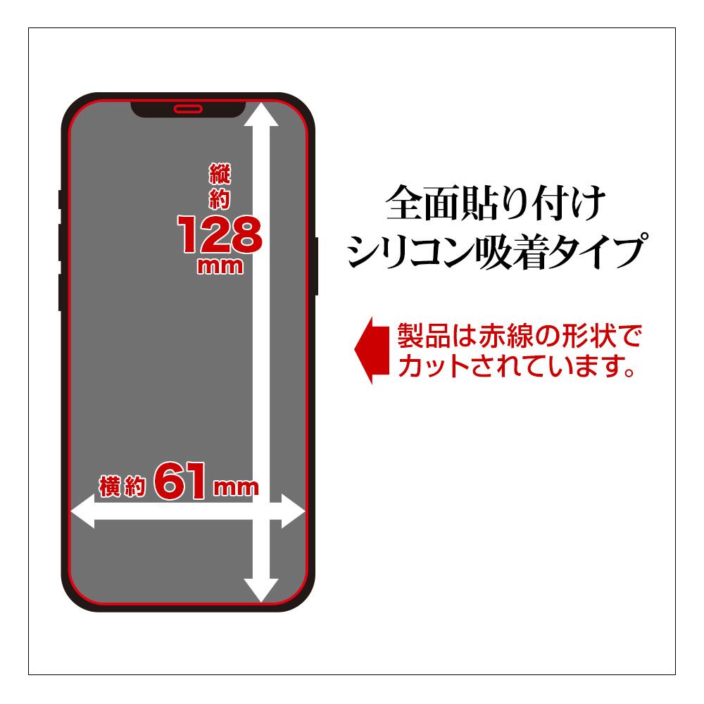ラスタバナナ iPhone12 mini フィルム 全面保護 強化ガラス 0.2mm 高光沢 アイフォン12 ミニ 液晶保護 GP2522IP054