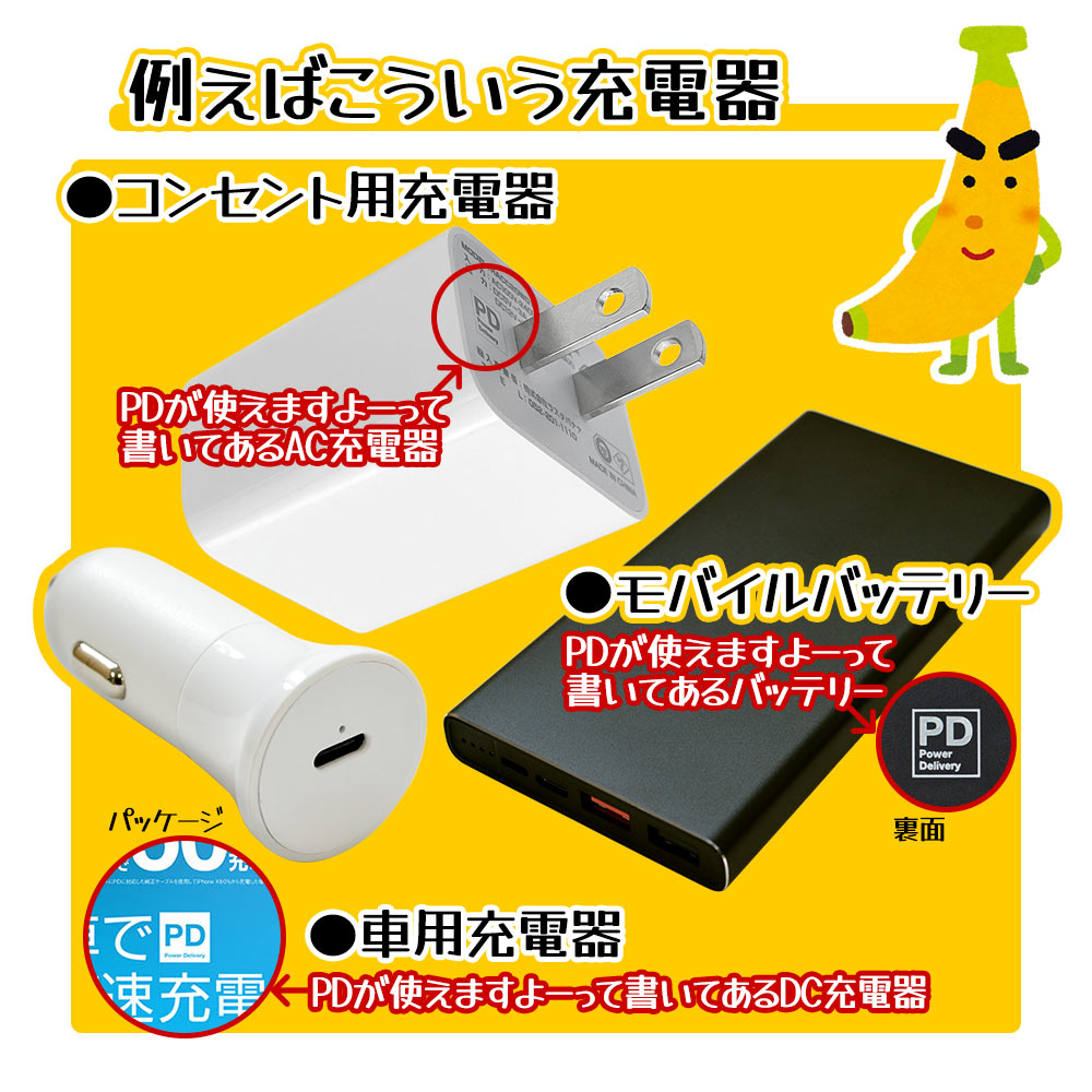 ラスタバナナ AC充電器 タイプC PD対応 パワーデリバリー 20ワット QC対応 クイックチャージ タイプA ハイパワー 急速充電 高速充電 コンセント AC 20W Type-C Power Delivery Quick Charge Type-A ブラック iPhone スマホ スマートフォン 海外対応 RACCA20W01BK