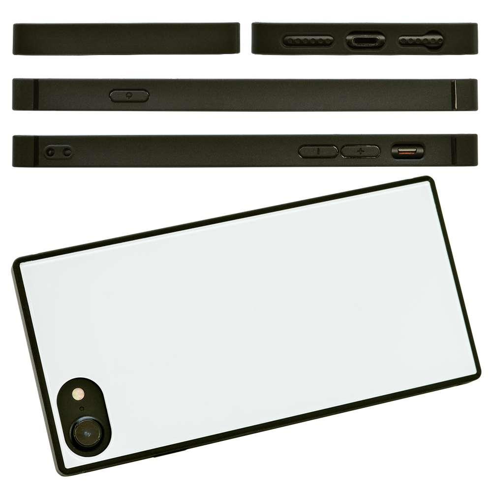 ラスタバナナ iPhone SE 第2世代 iPhone8 iPhone7 iPhone6s 共用 ケース カバー ハイブリッド TPU+ガラス レッド アイフォン SE2 スマホケース 5203IP747HB