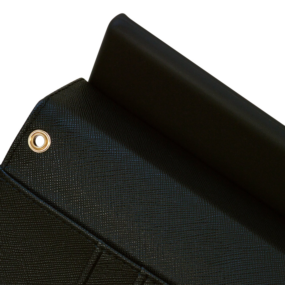 ラスタバナナ arrows NX9 F-52A ケース カバー 手帳型 ハンドストラップ付き ブラック アローズ NX9 スマホケース 5959F52ABO