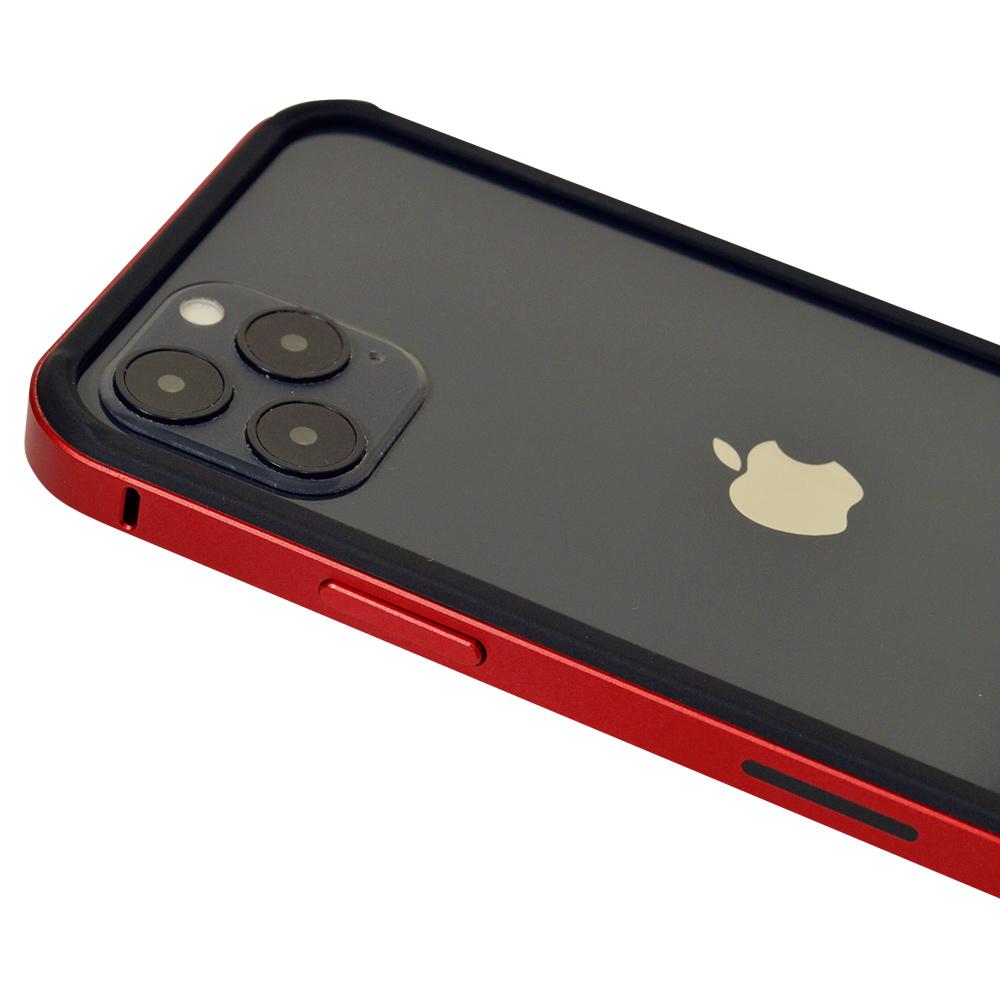 ラスタバナナ iPhone12 mini ケース カバー ハイブリッド バンパー アルミ+TPU PCハードカバー ブラック アイフォン スマホケース 6028IP054HB