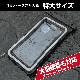 ラスタバナナ スマホ 特大 防水ケース 反射板付き リフレクター IPX8 ネックストラップ 大きい ビッグサイズ スマートフォン iPhone 12 Pro Max 防水カバー BIG XL ブラック 雨 海 プール 風呂 台所 キッチン アウトドア 登山 防災 RFRWPL04BK