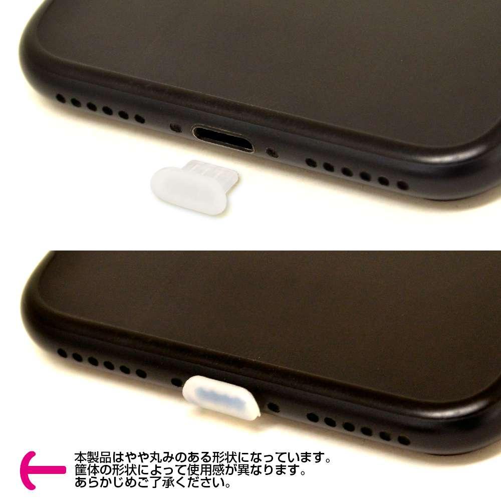 ラスタバナナ iPhone/iPad ライトニング端子専用 保護キャップ iBlocker シリコン 2個入り クリアホワイト Lightning キャップ RCAPL01CL