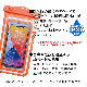 ラスタバナナ スマホ 特大 防水ケース 反射板付き リフレクター IPX8 ネックストラップ 大きい ビッグサイズ スマートフォン iPhone 12 Pro Max 防水カバー BIG XL オレンジ 雨 海 プール 風呂 台所 キッチン アウトドア 登山 防災 RFRWPL04OR