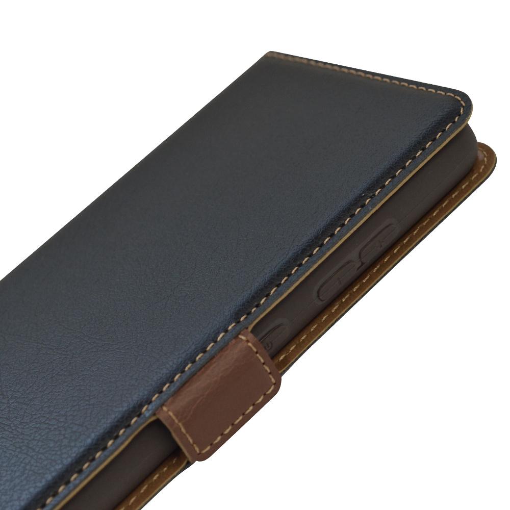 ラスタバナナ Galaxy A52 5G SC-53B ケース カバー 手帳型 +COLOR 耐衝撃吸収 薄型 サイドマグネット NV×BR ギャラクシー A52 5G スマホケース 6184GA52BO