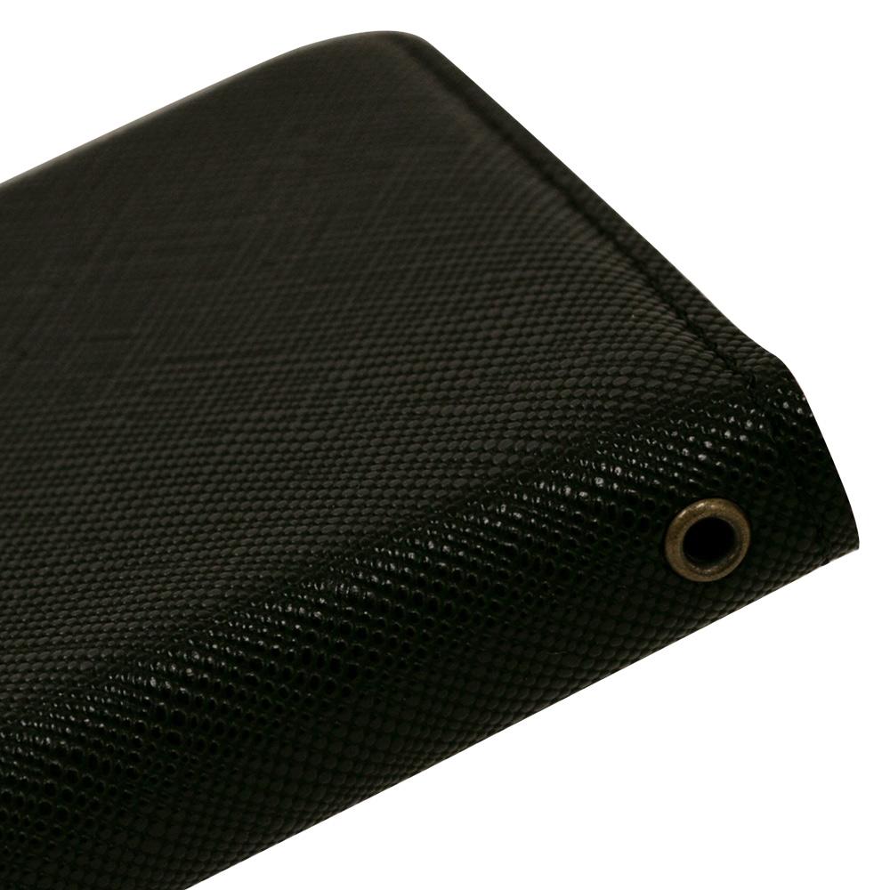 ラスタバナナ iPhone SE 第2世代 iPhone8 iPhone7 iPhone6s 共用 ケース カバー 手帳型 フィンガーホール付き 落下防止 ブラック アイフォン スマホケース 6202IP047BO