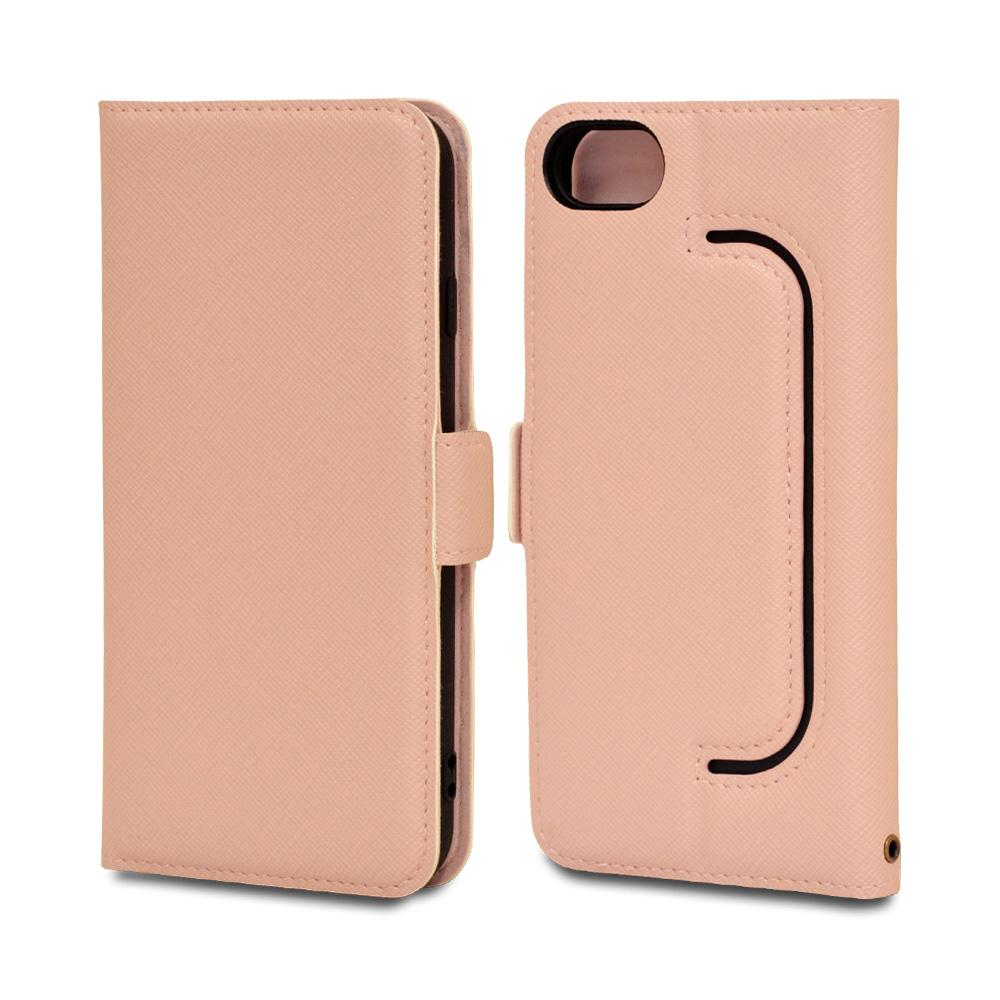 ラスタバナナ iPhone SE 第2世代 iPhone8 iPhone7 iPhone6s 共用 ケース カバー 手帳型 フィンガーホール付き 落下防止 ピンク アイフォン スマホケース 6203IP047BO