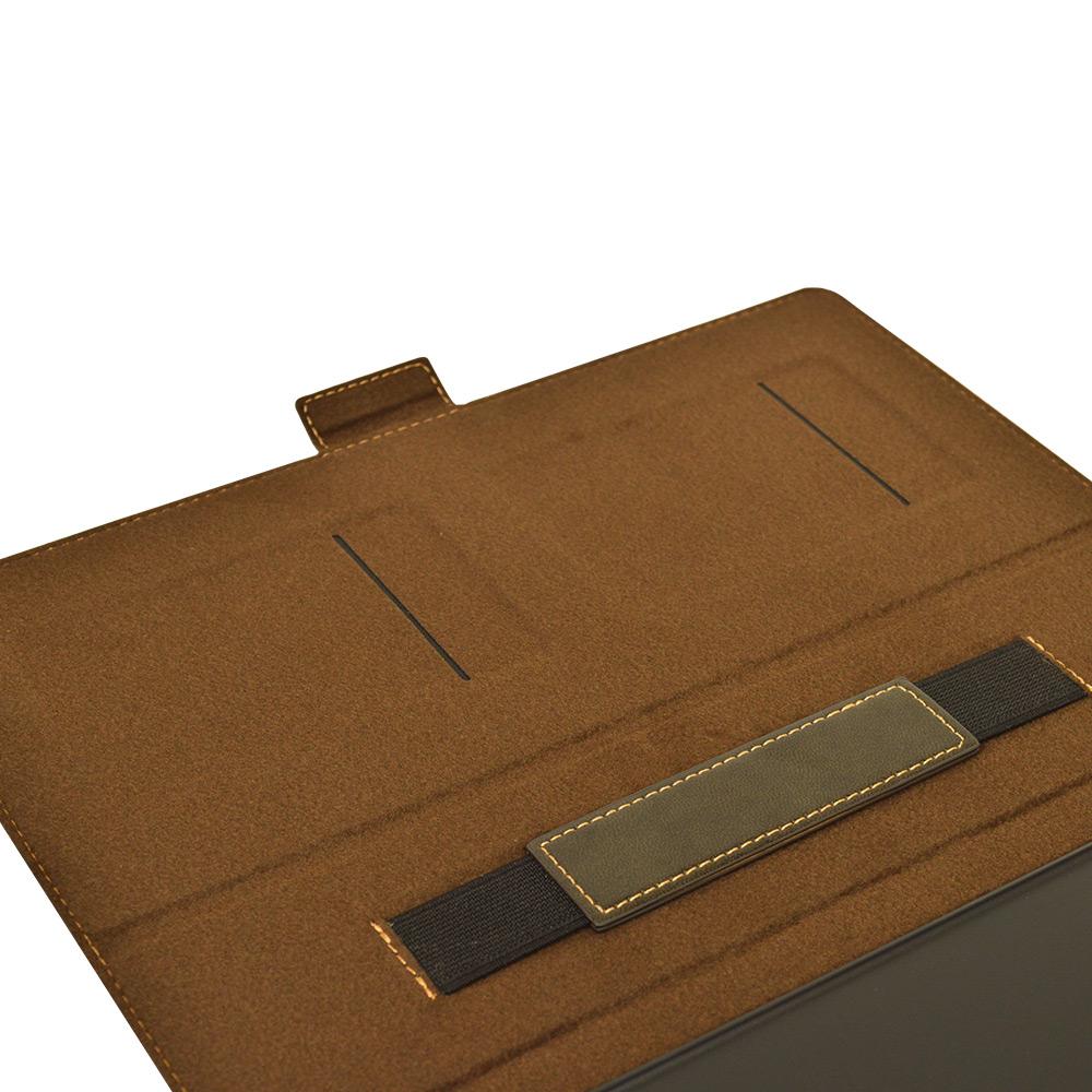 ラスタバナナ dtab d-41A ケース カバー 手帳型 スリープ機能対応 カーキブラック ディータブ タブレットケース 5585DTABBO