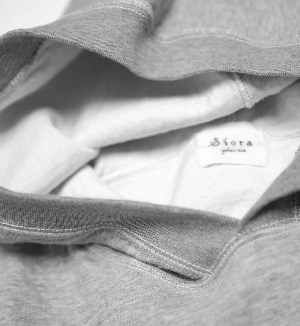 Cardboard Pullover Hooded Sweat (HEATHER GRAY) プルオーバーパーカー