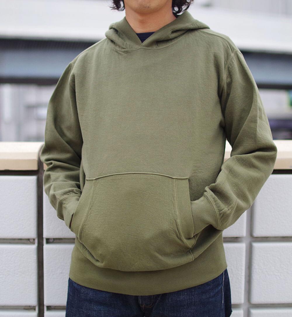 Cardboard Pullover Hooded Sweat (KAHKI) プルオーバーパーカー