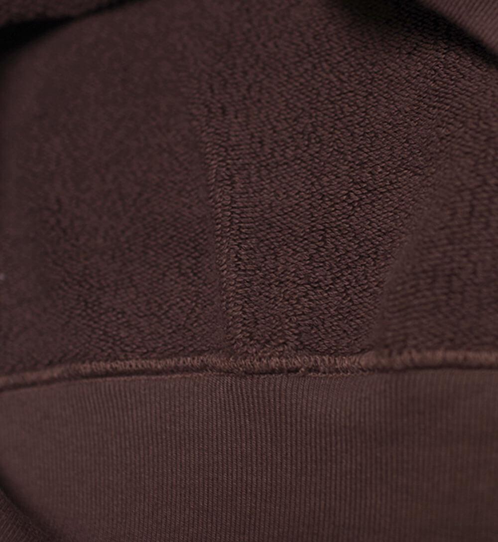 Stretch Fleece Sweat (BROWN) スウェット