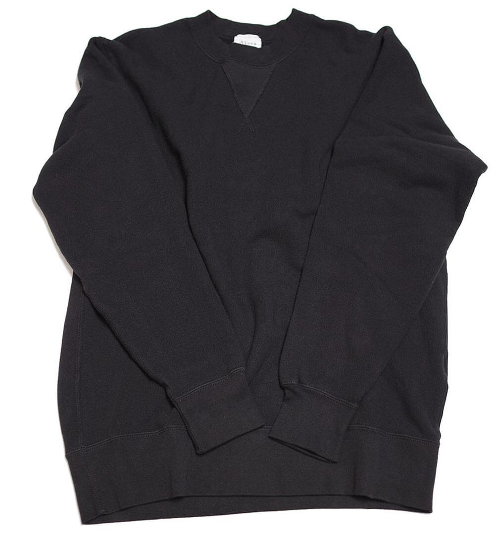 Stretch Fleece Sweat (BLACK)スウェット