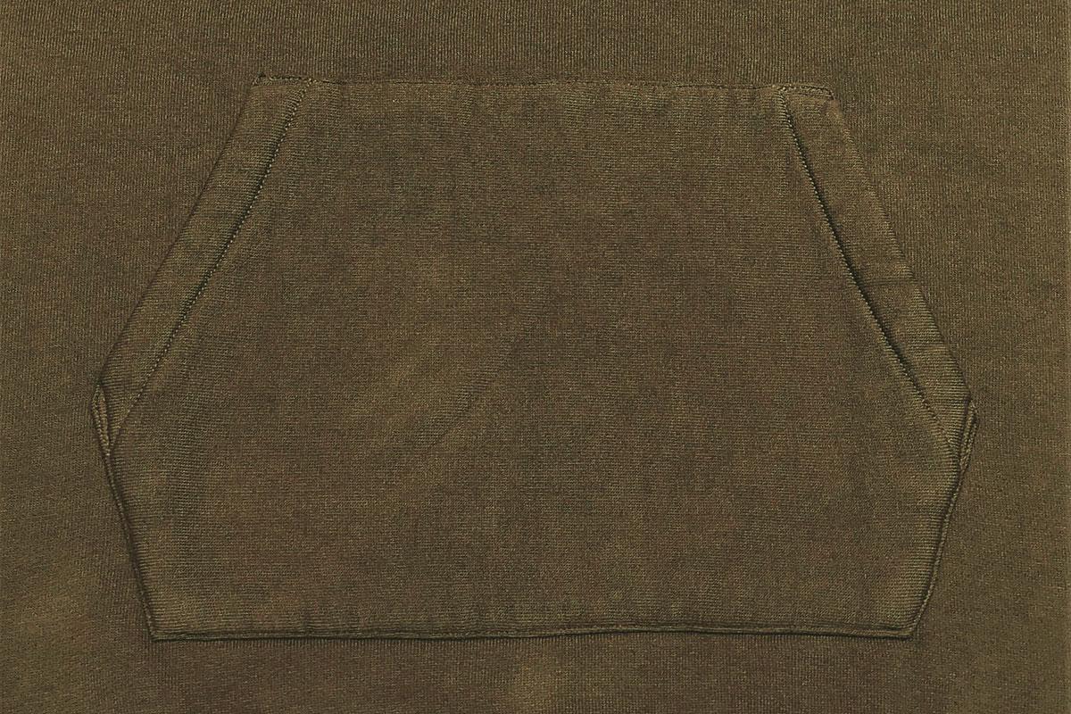 extra long cotton Brushed Parka コットンプルパーカー(olive green)