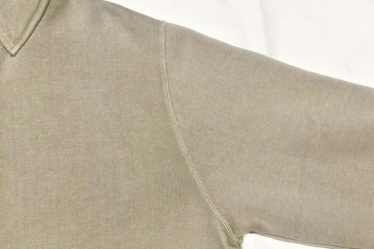 extra long cotton Brushed Parka コットンプルパーカー(grege)