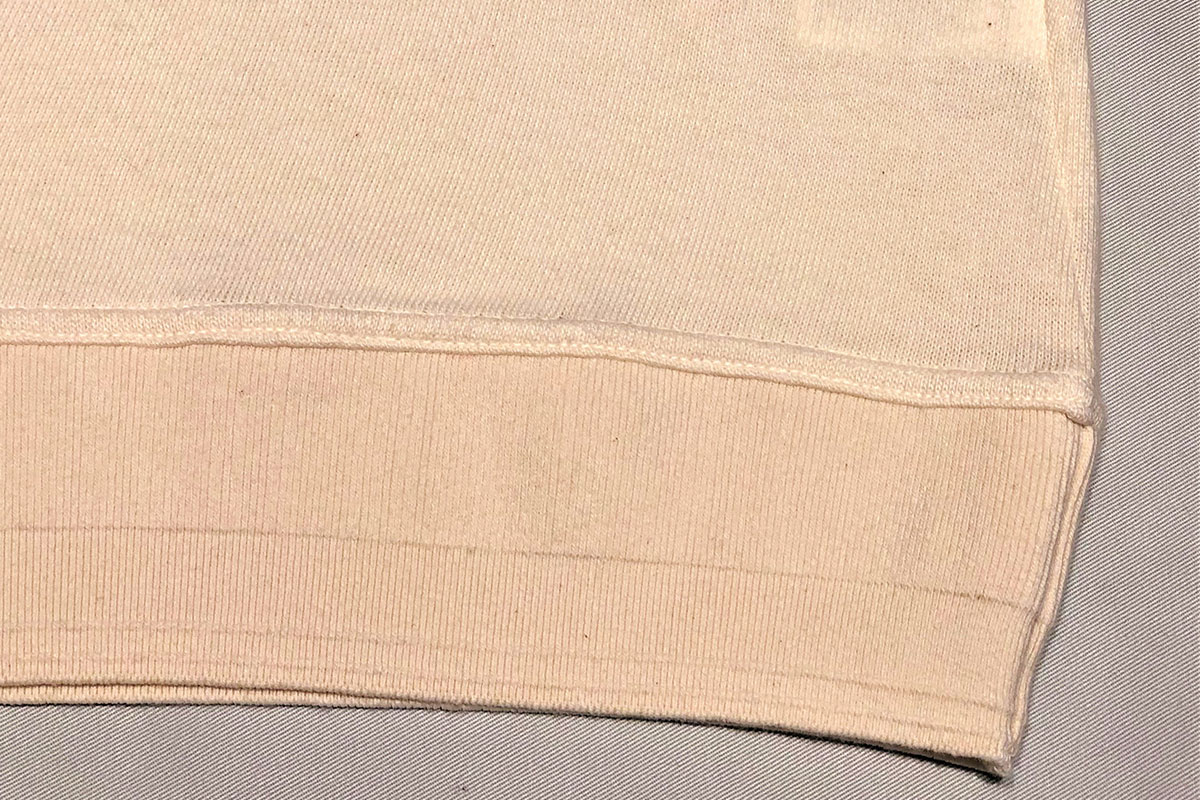 sweet twist rough gauge jersey Long tee ローゲージカットセーター(ecru)