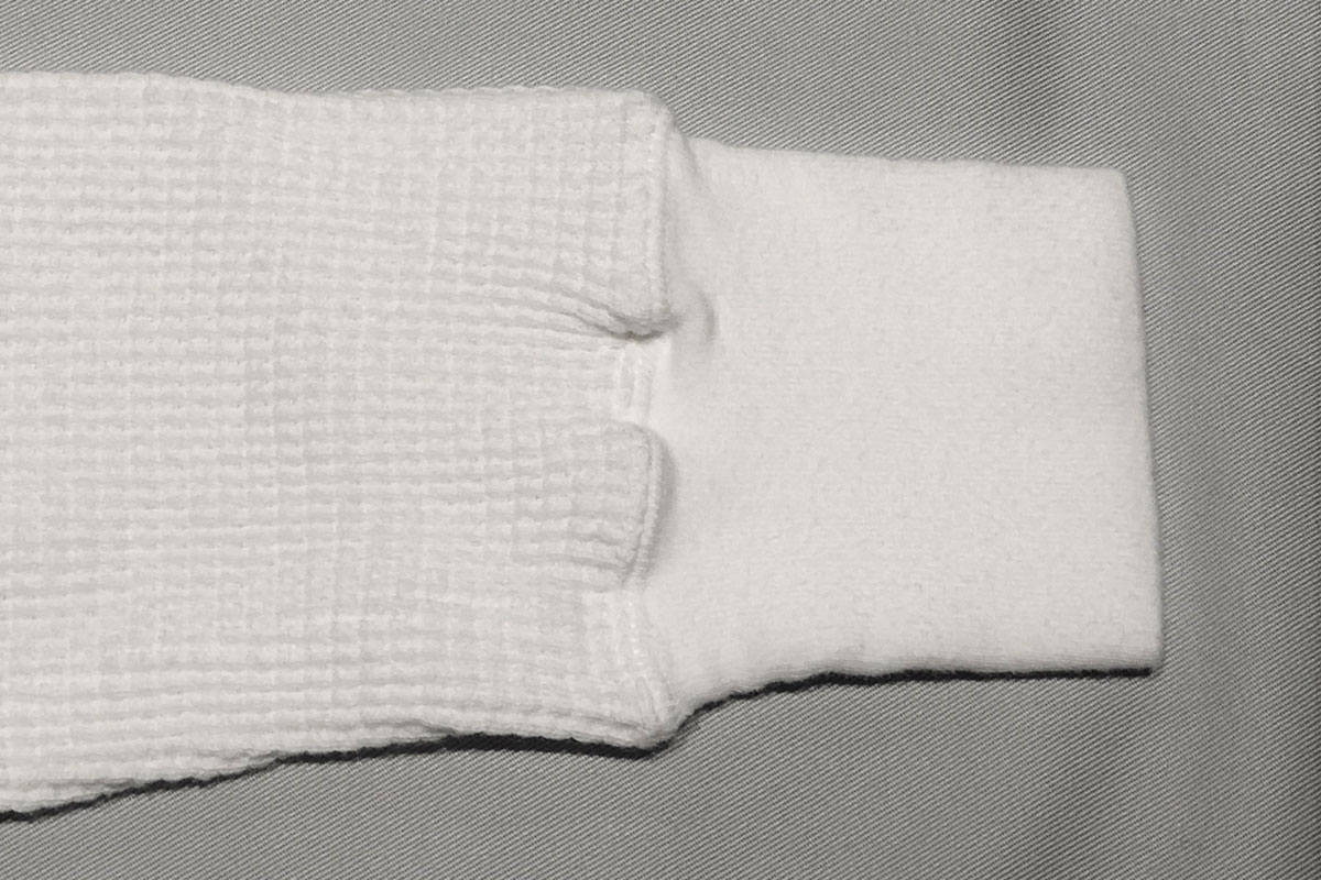 thermal like wool Raglan L/s tee ローゲージサーマルロンT(off)
