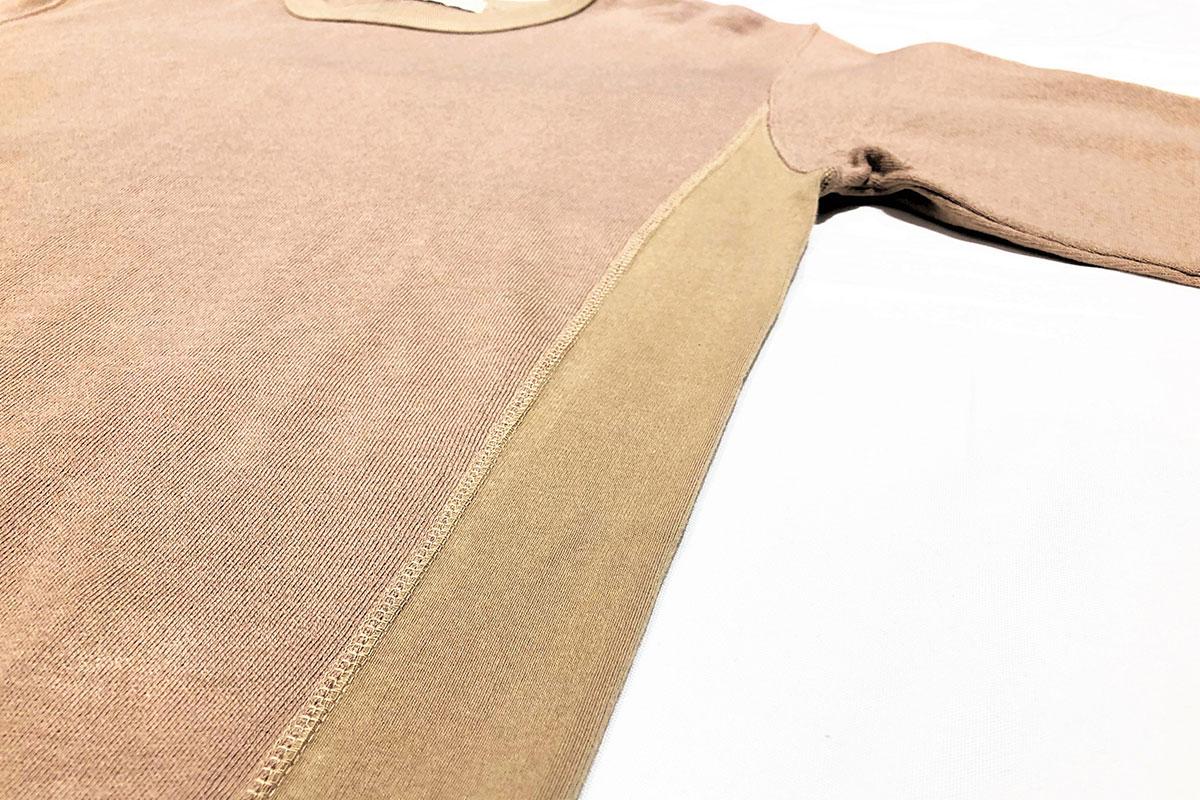 cotton wool reverse sweat ライトスウェット(camel)