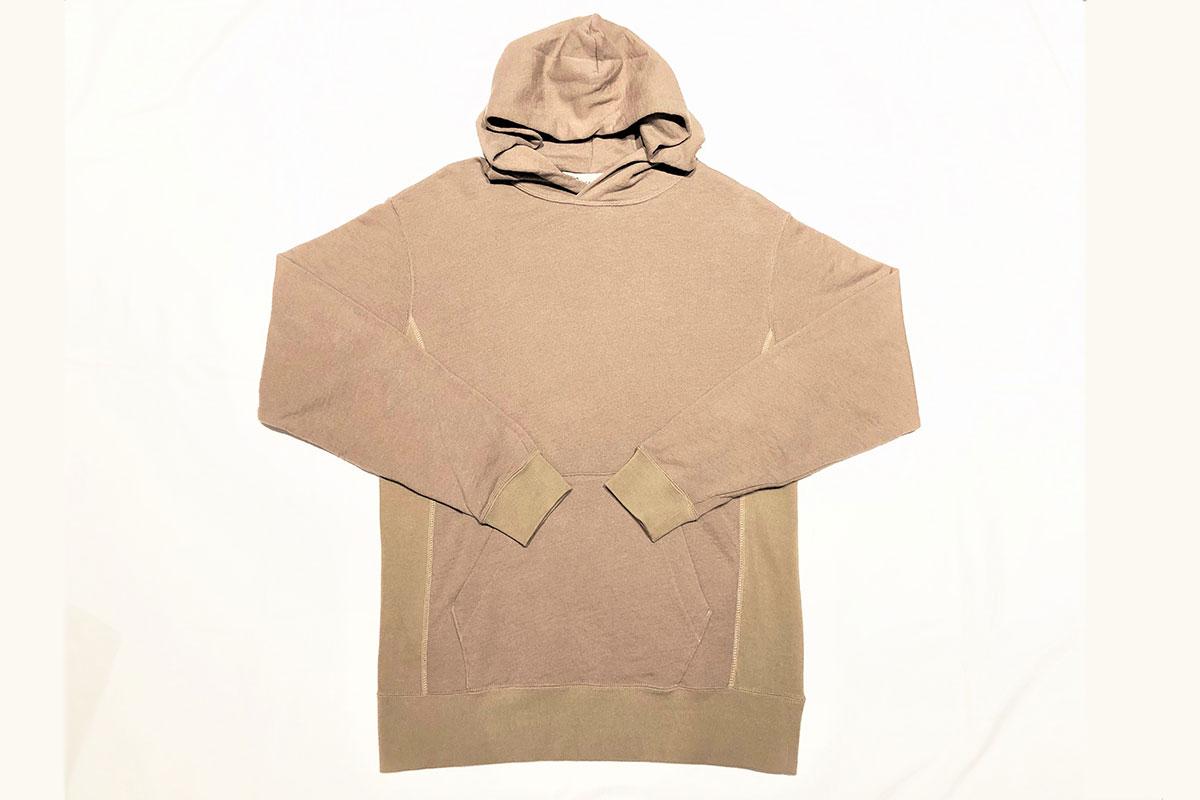 cotton wool reverse Parka コットンプルパーカー(camel)