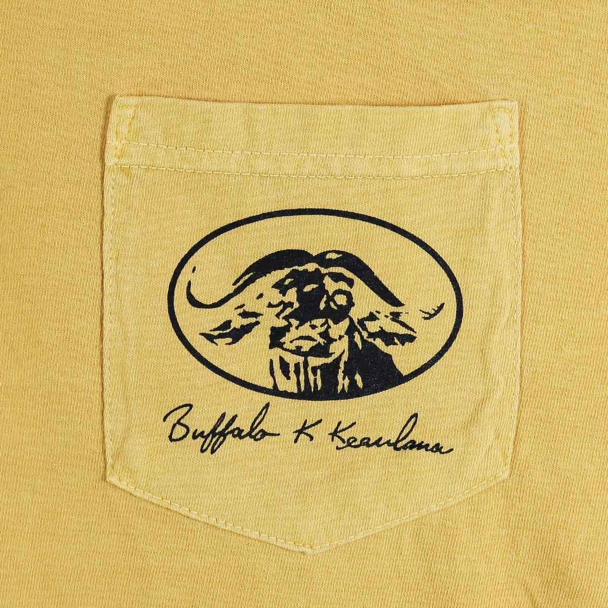 BUFFALO GARMENT DYED T-SHIRT