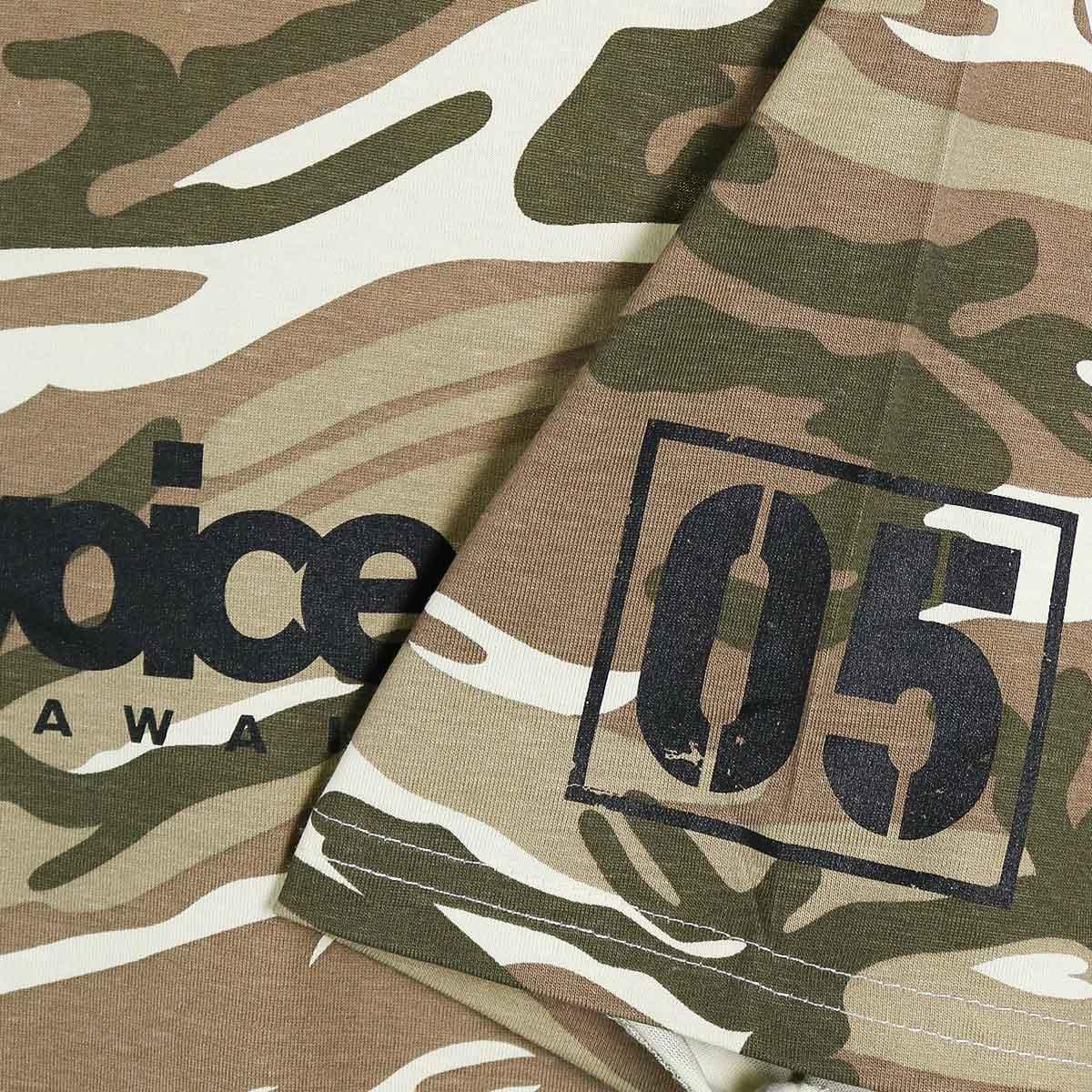 BASIC LOGO 05 CAMOUFLAGE T-SHIRT