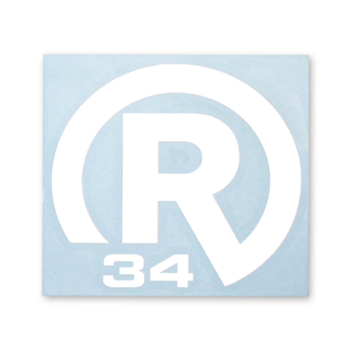 STICKER R34  LLサイズ