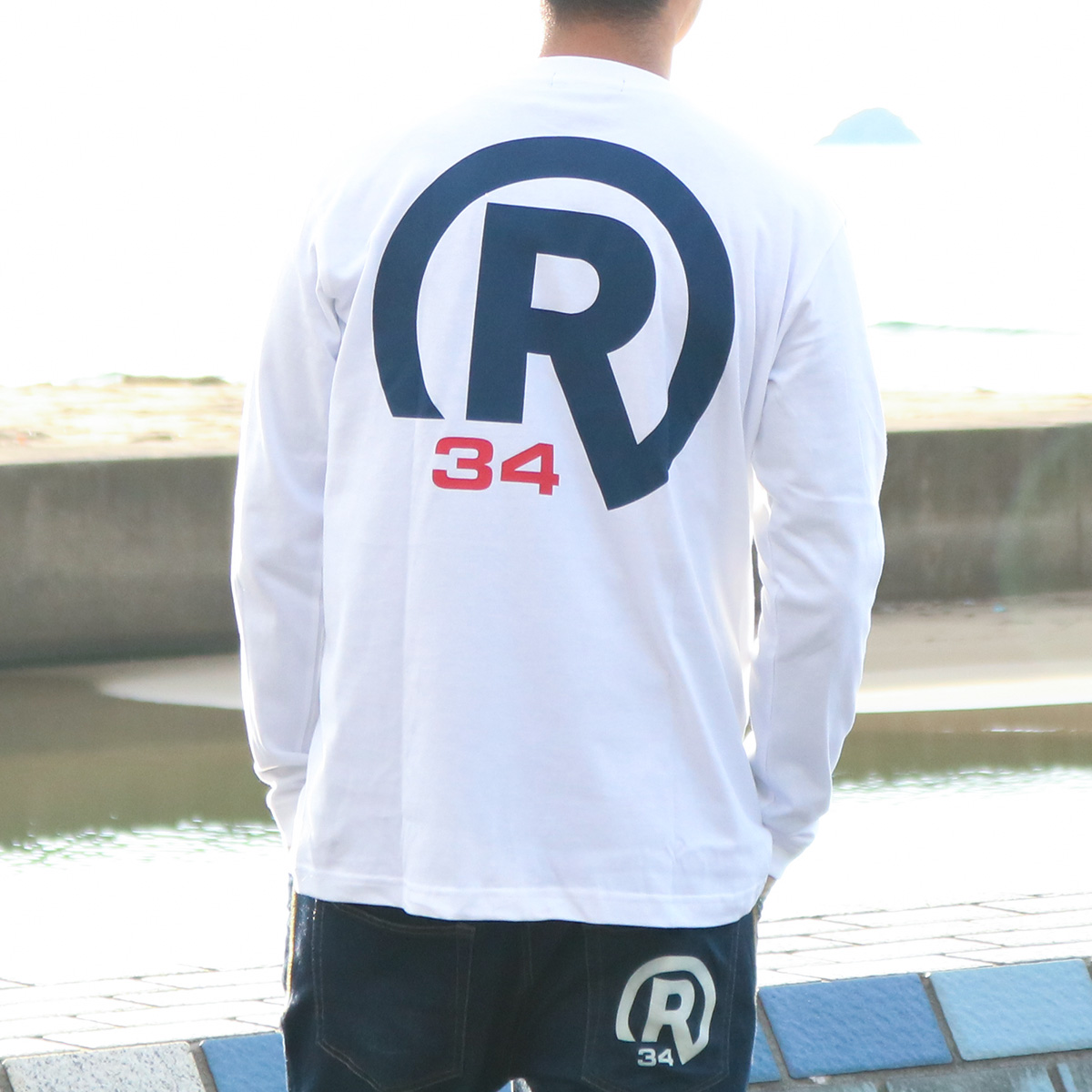BASIC R34 LOGO LONG T-SHIRT