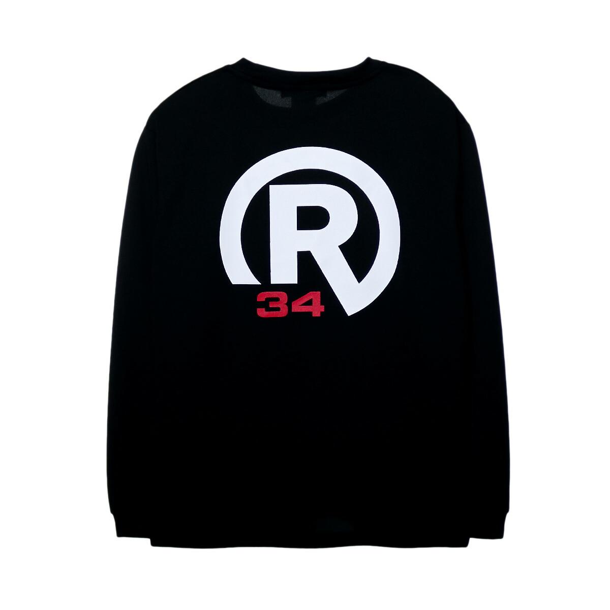 BASIC R34 LOGO DRY LONG T-SHIRT