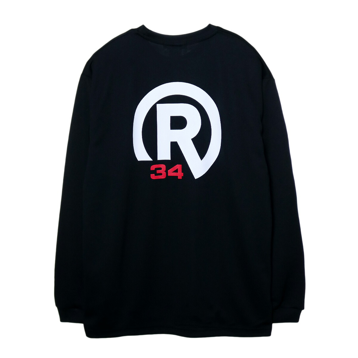 BASIC R34 LOGO DRY LONG T-SHIRT BIG SIZE