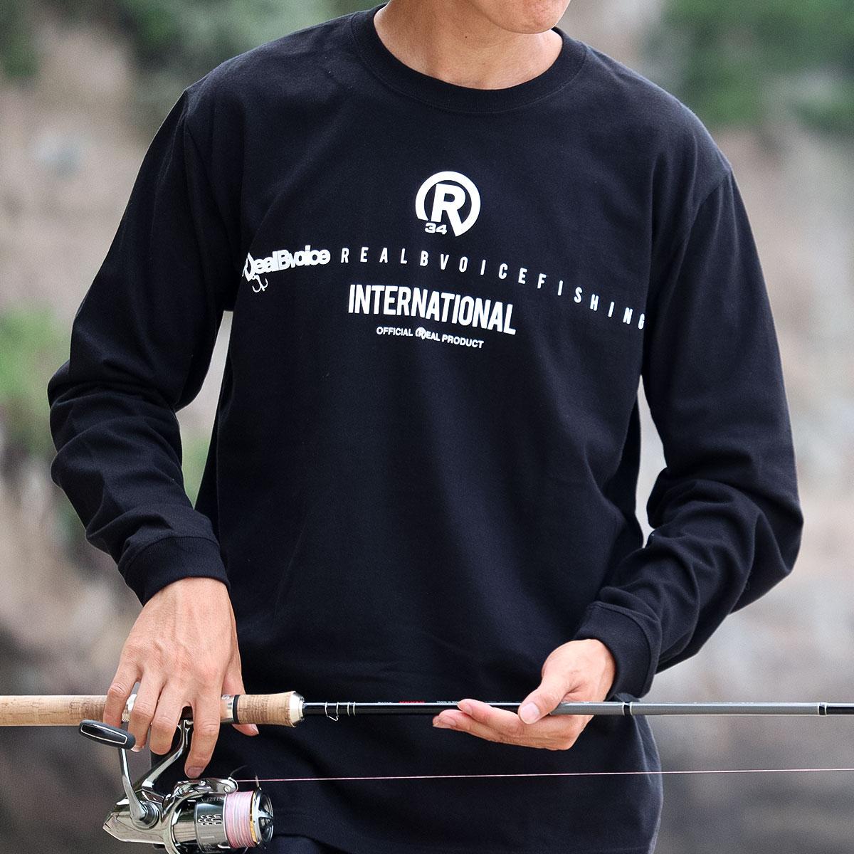 FISHING R34 BASIC LONG T-SHIRT