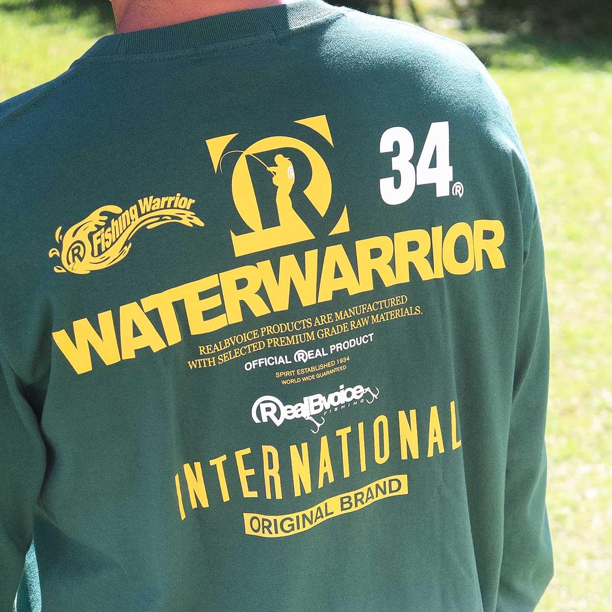 FISHING WATER WARRIOR LONG T-SHIRT