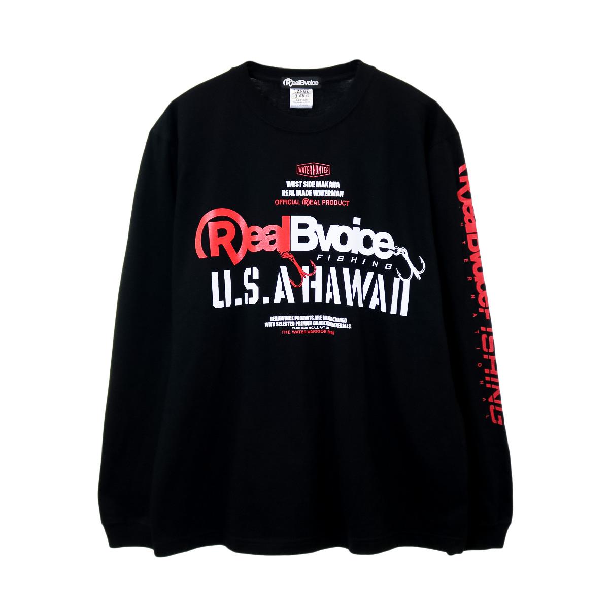 FISHING RBV U.S.A HAWAII LONG T-SHIRT