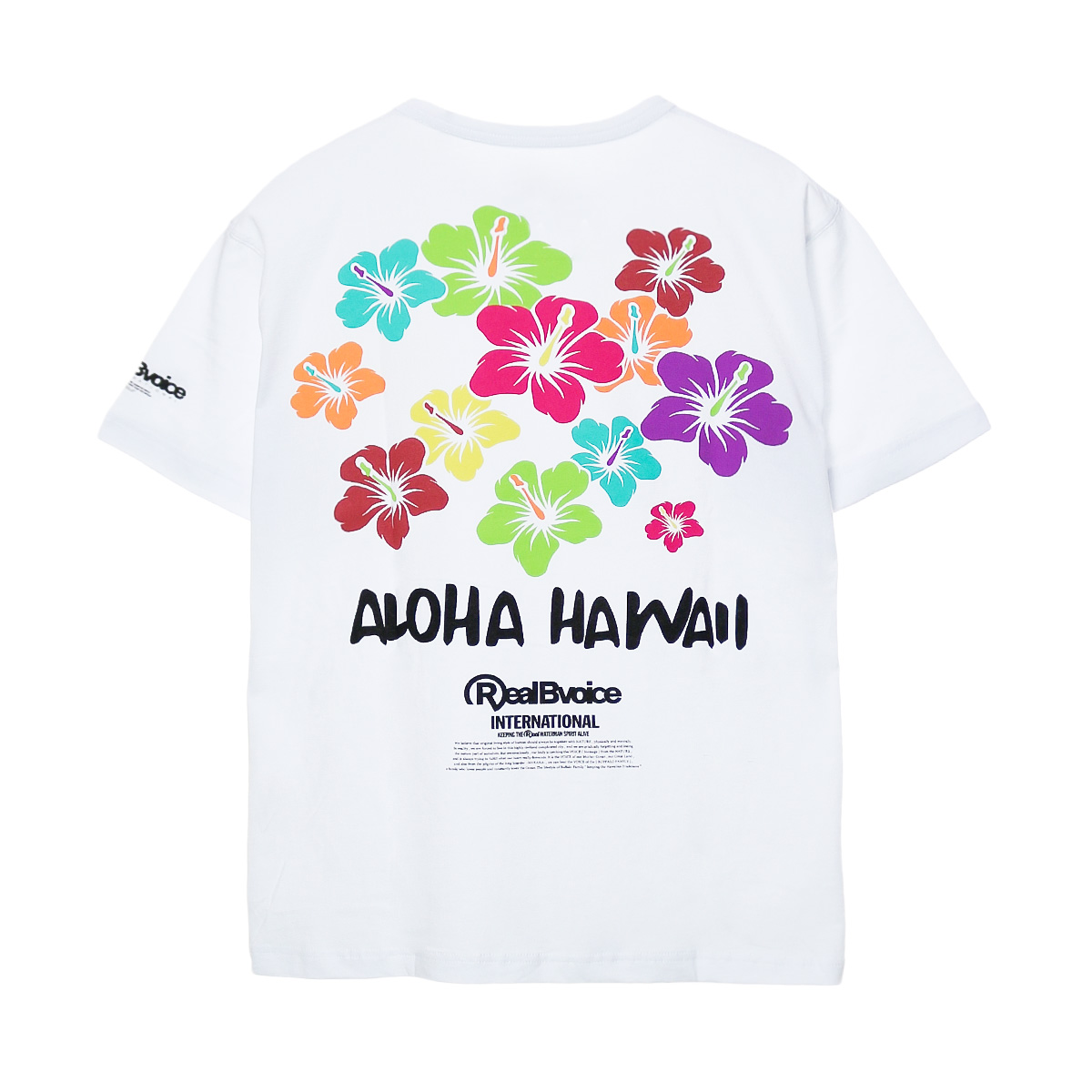 RBV MULTI FLOWER T-SHIRT