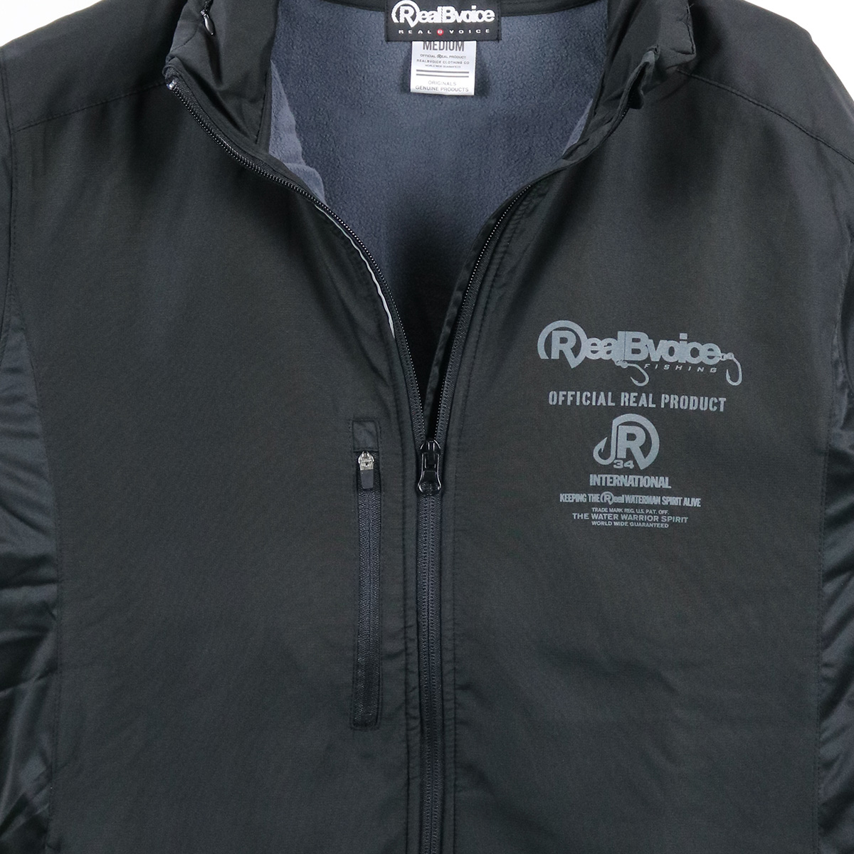 FISHING MICRO RIP STOP HOOD JACKET