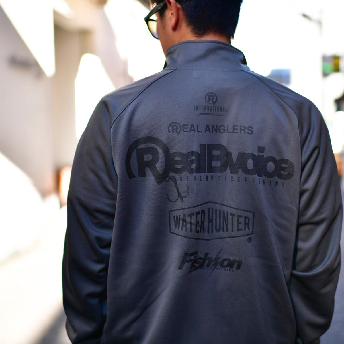 FISHING TRACK JERSEY JACKET