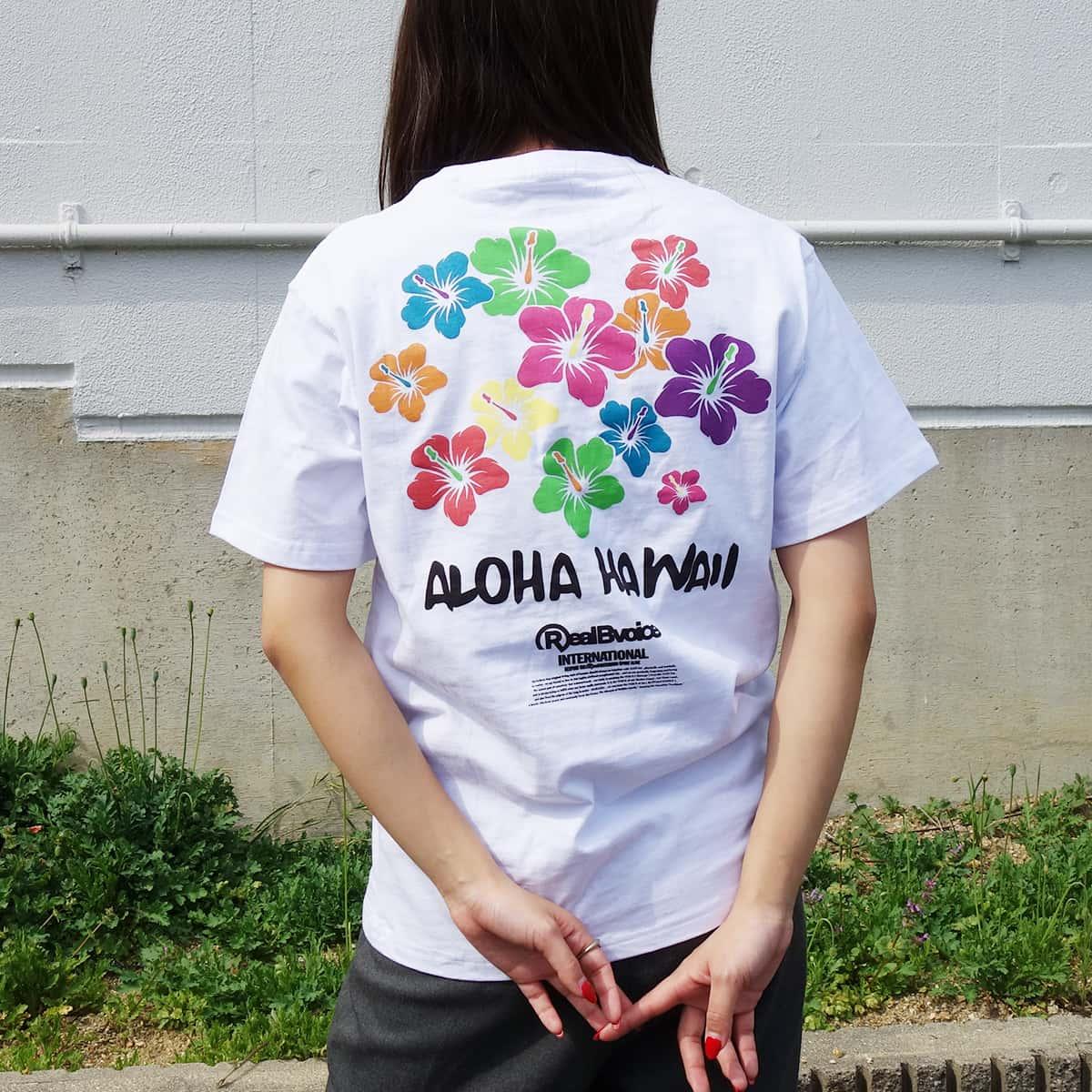 WOMEN'S RBV MULTI FLOWER T-SHIRT