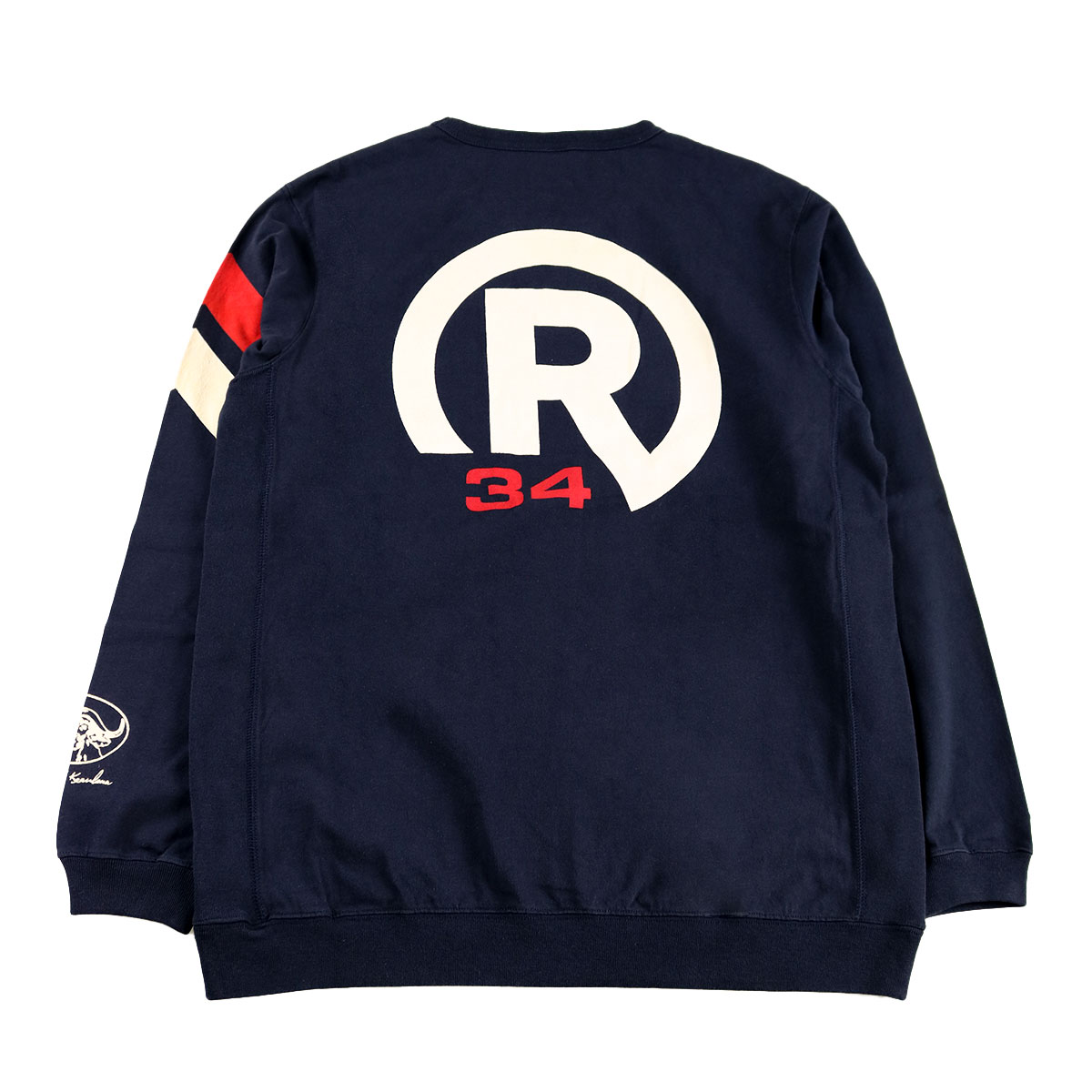 HEAVY WEIGHT RIB LONG T-SHIRT R34
