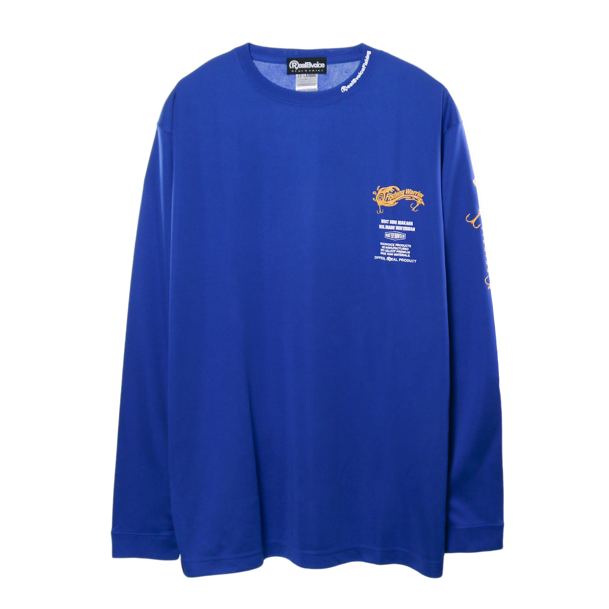 GIANT TREVALLY LONG DRY T-SHIRT BIG SIZE
