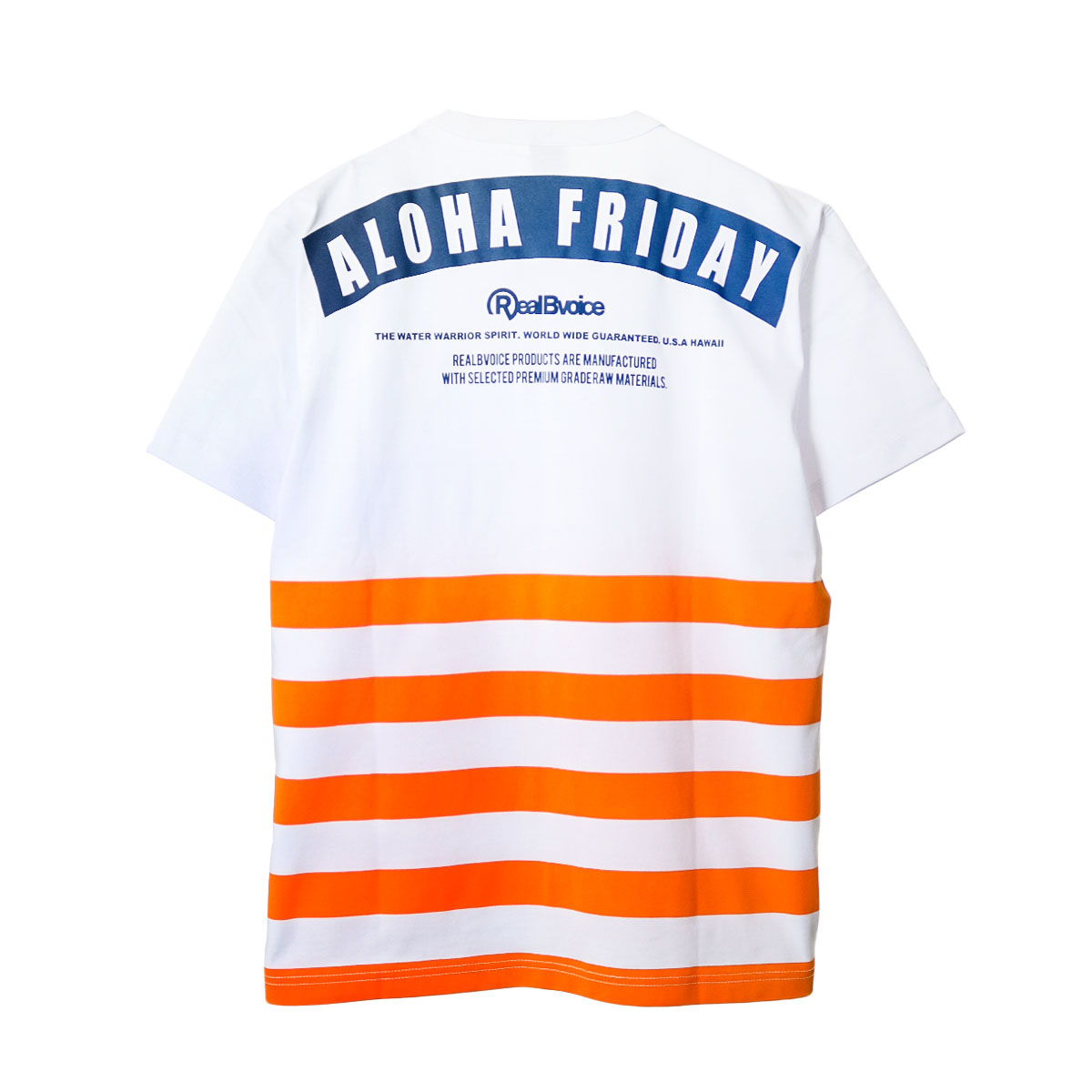ALOHA FRIDAY BORDER T-SHIRT