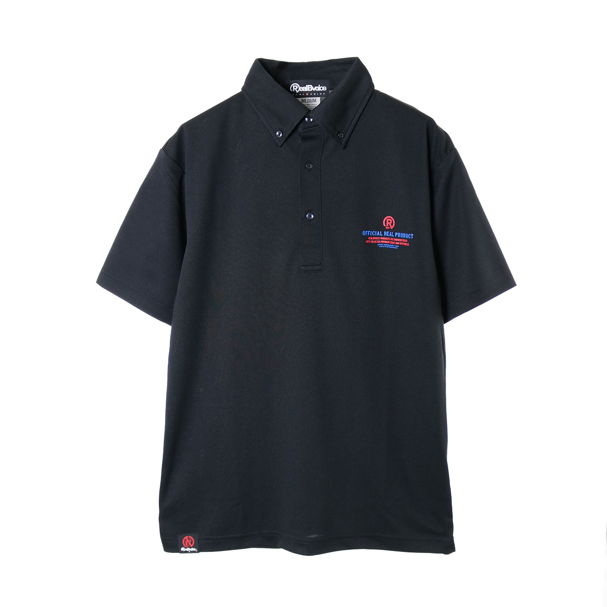 REALBVOICE USA DRY POLO SHIRT