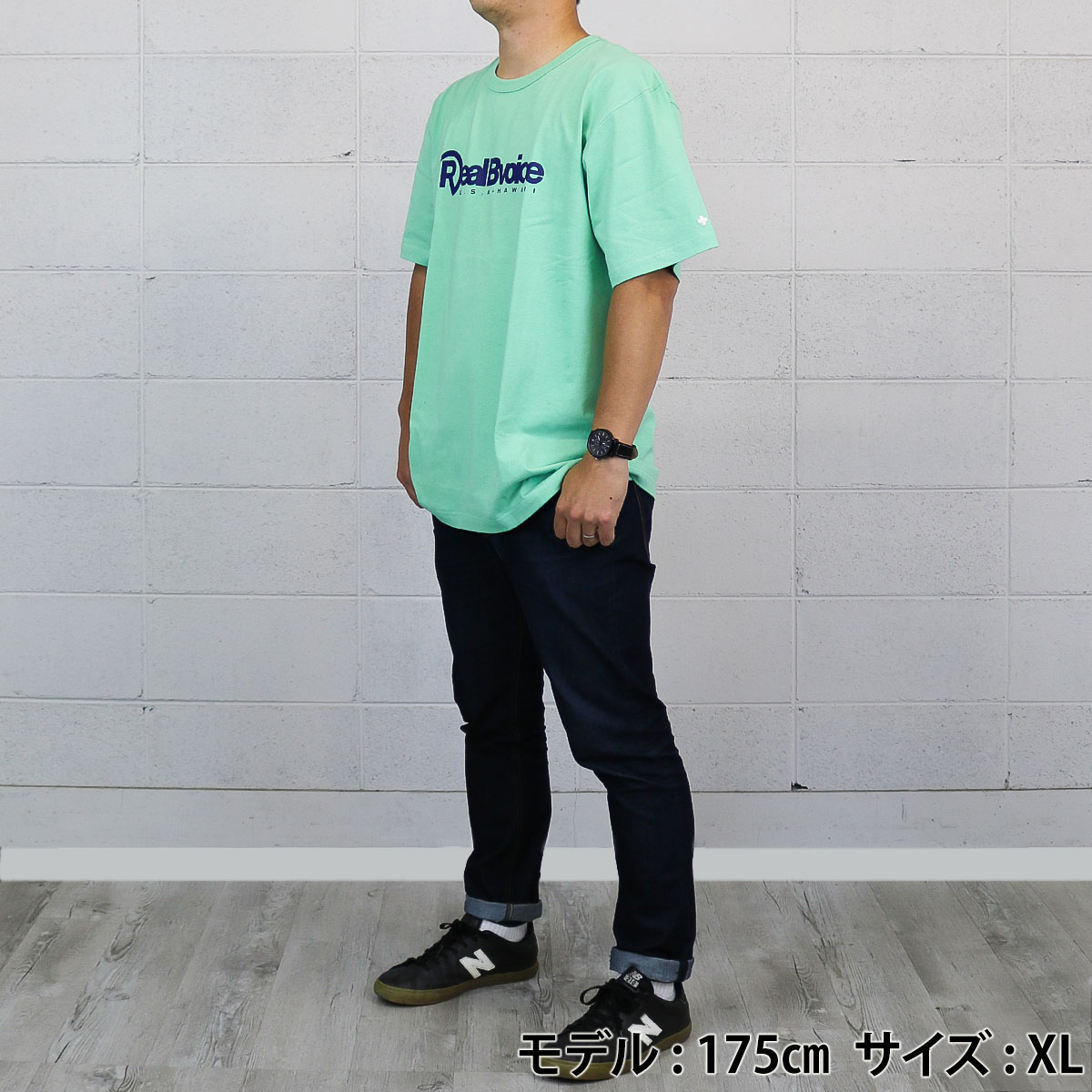 HEAVY WEIGHT BASIC LOGO T-SHIRT