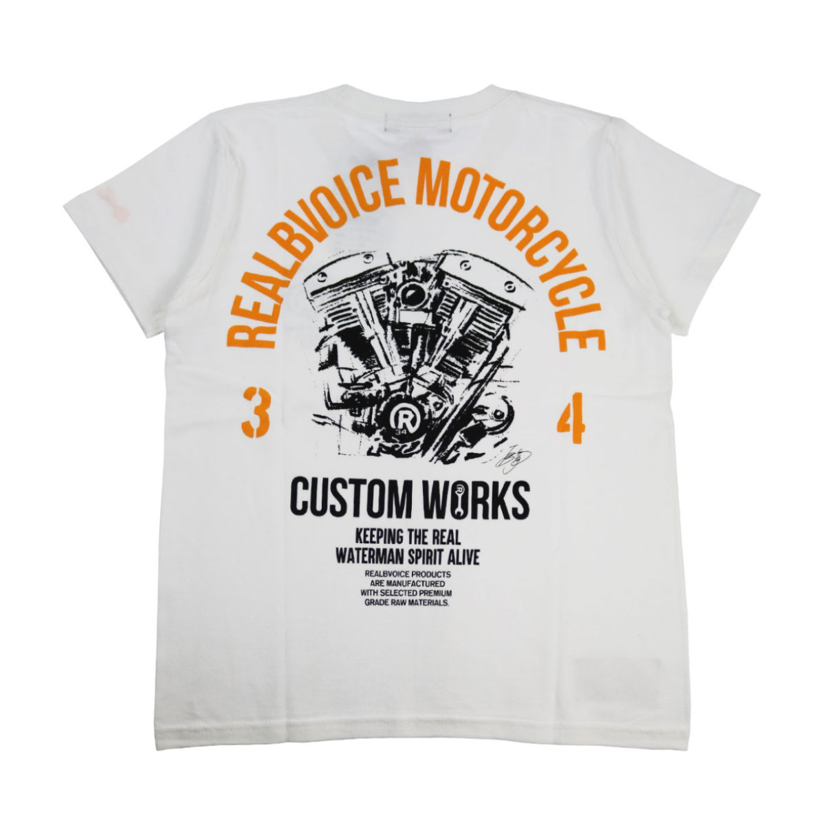 MC EIJI LIMITED CUSTUM WORKS T-SHIRT