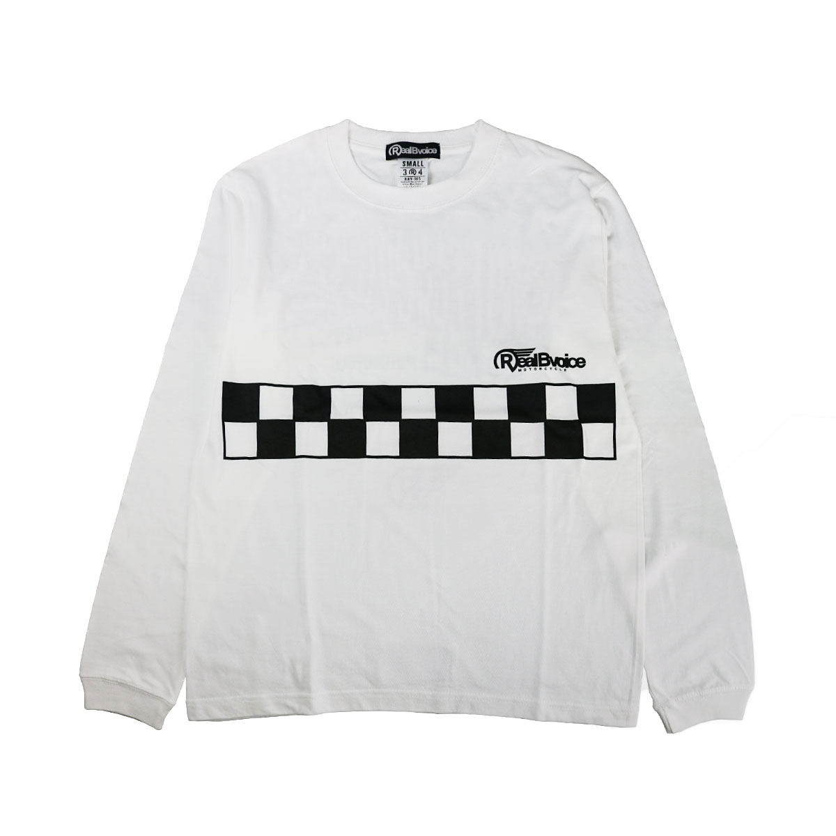 MC CHECKER FLAG LONG T-SHIRT